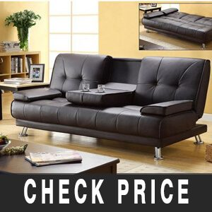 Black Leather Futon reviews