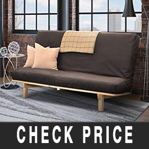 Full-Size Bi-Fold Futon Sofa Bed