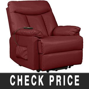 Domesis Renu Leather Power Lift Chair Recliner Review