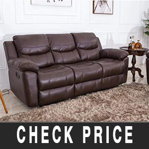 Recliner Sofa PU Leather Review