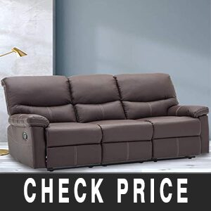3 Set Sofa Loveseat Chaise Couch Recliner Review