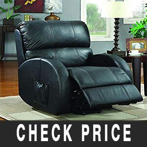 Coaster Home Upholstered Power Lift Recliner Review