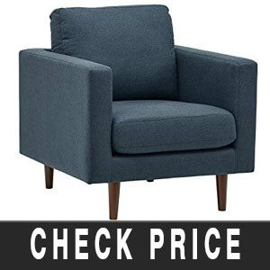 Rivet Revolve Modern Leather Armchair Review