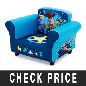 Delta Children Upholstered Chair, Disney/Pixar Toy Story 4 Review