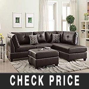 Poundex F6973 sectional sofa