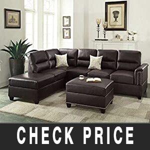 Poundex Upholstered Sectional Sofas