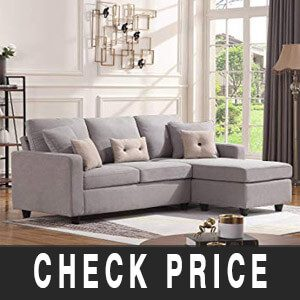 HONBAY Convertible Sectional Sofa Couch Review