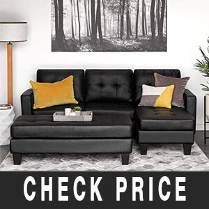 Best Choice Products Tufted Faux Leather