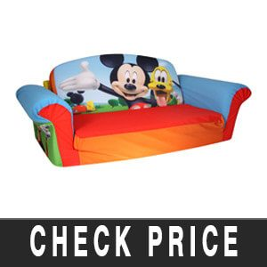 Marshmallow Furniture Flip Open Sofa - Mickey Mouse Club House Review