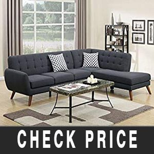 Poundex Sectional Sofa Review