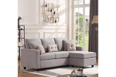 HONBAY Convertible Sofa Couch