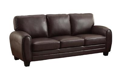 Homelegance Rubin 85″ Leather Sofa