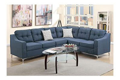 Poundex Sectional Sofa