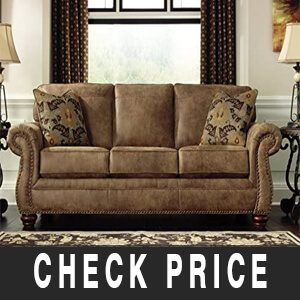 Larkinhurst Queen Size Faux most comfortable sofa