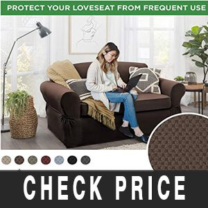 MAYTEX Pixel ultra-soft best sofa covers for leather sofas