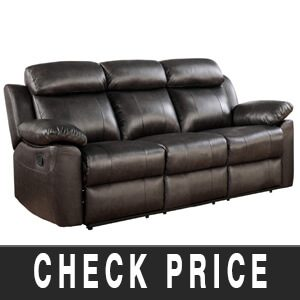 Homelegance Double Reclining Sofa Review