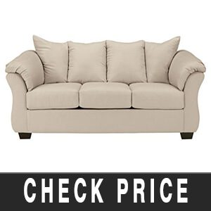 Darcy Contemporary Microfiber Sofa