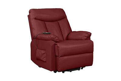 2. Domesis Renu Leather Recliner Chair