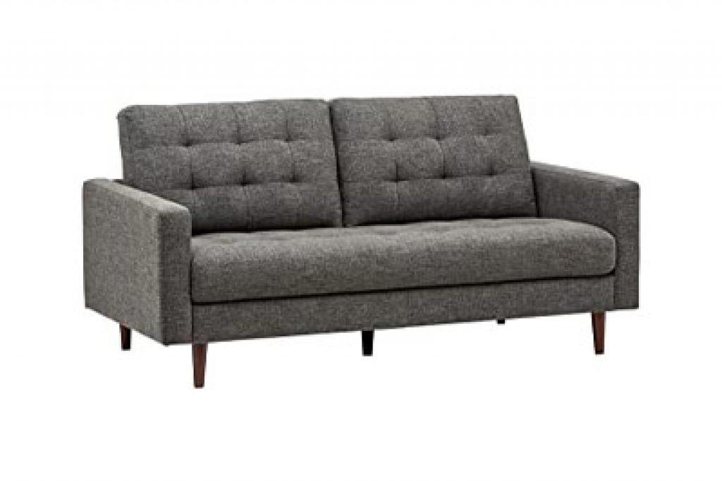 Rivet Cove Mid-Century Modern Tufted Apartment Sofa
