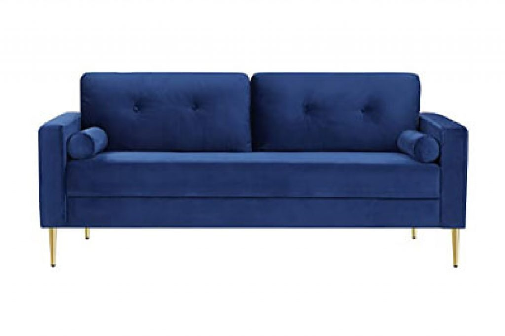VASAGLE Sofa, Couch for Living Room Blue ULCS002Q01