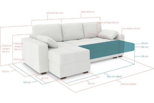 how wide is a sofa bed