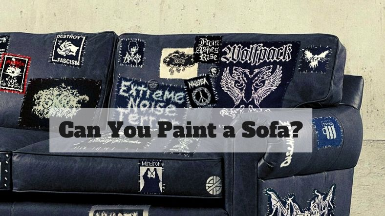 can you paint a sofa?